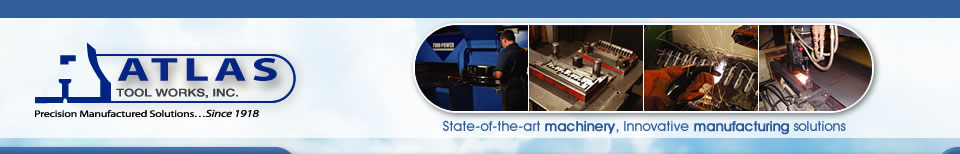 Atlas Tool & Die Works – Precision Metal Parts, Precision Cutting